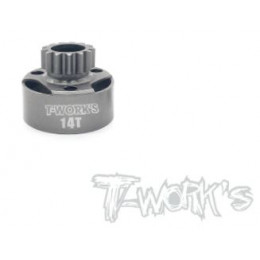 T-Work's Cloche d'Embrayage LightWeight 14 Dents TG-064-14