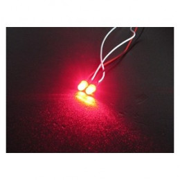 3RACING - LED Flash 5mm Rouge - 3RAC-FLD05/RE