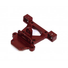 GPM Support carrosserie arriere Alu 1/16 Rouge ERV031-R