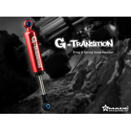 Gmade Amortisseur G-Transition Rouge 90mm 1/8 (x4) GM20701