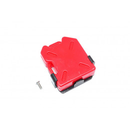 GPM Bidon de carburant rouge + support ZSP022-R